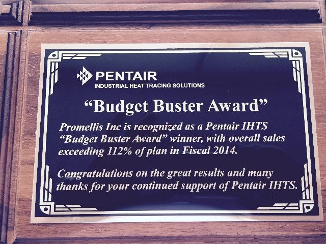 pentair-award-2014